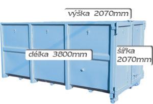 kontejner 12m3