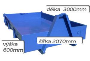 kontejner odvoz sutí 3m3