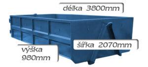 kontejner 6m3