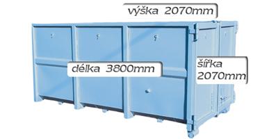 kontejner 12m