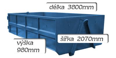 kontejner 6m